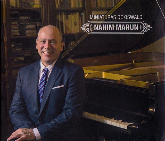 """LANÇAMENTO DO CD """"MINIATURAS DE OSWALD"""", DE NAHIM MARUN"""